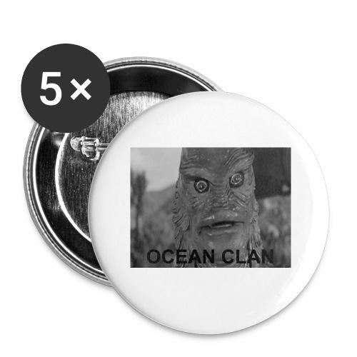 OCEAN CLAN - Liten pin 25 mm (5-er pakke)