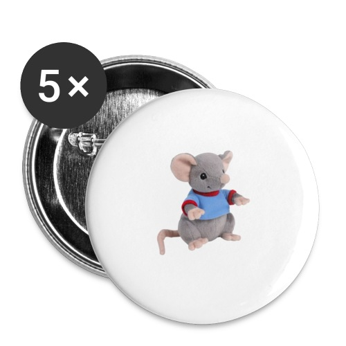 rotte - Buttons/Badges lille, 25 mm (5-pack)