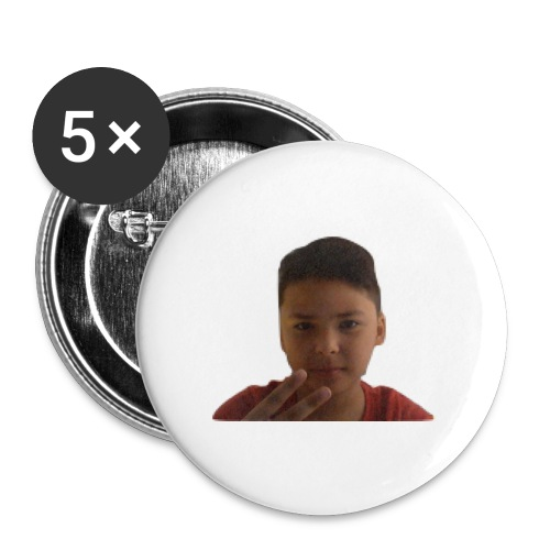 WIN 20170901 115015 burned 1 - Buttons klein 25 mm (5-pack)