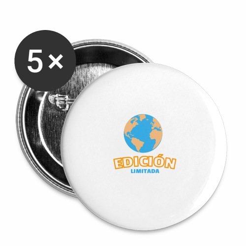 Edición Limitada - Paquete de 5 chapas pequeñas (25 mm)