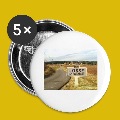la LOOSE en gelée - Lot de 5 petits badges (25 mm)