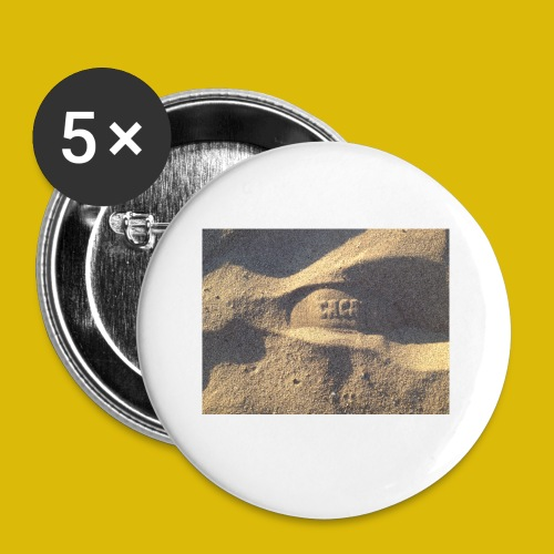 Caca - Lot de 5 petits badges (25 mm)