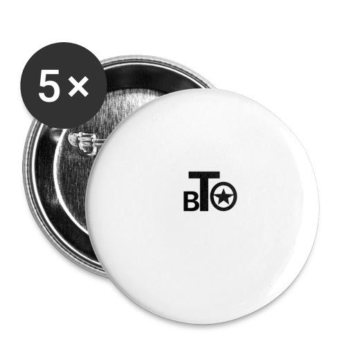 BTO - Små knappar 25 mm (5-pack)