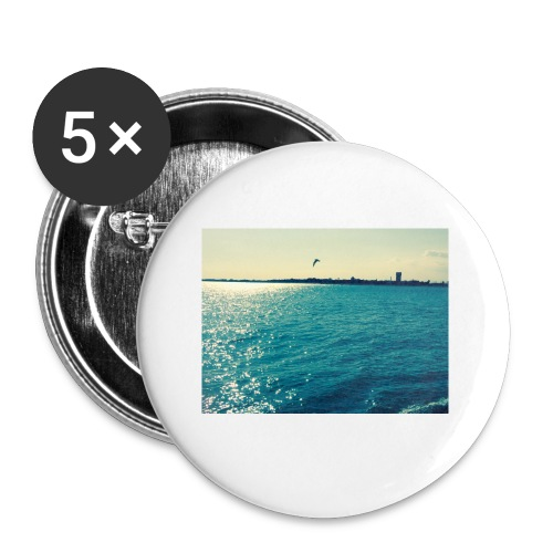 ocean life - Buttons small 1''/25 mm (5-pack)