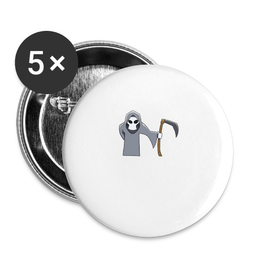 Reaper - Buttons small 1''/25 mm (5-pack)