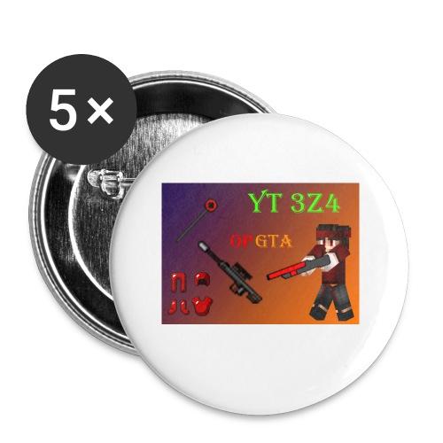 yt 3z4 - Rintamerkit pienet 25 mm (5kpl pakkauksessa)