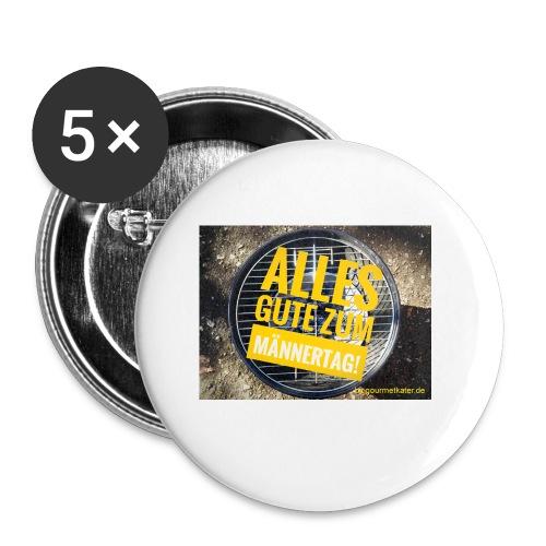 Männer-Tag - Buttons klein 25 mm