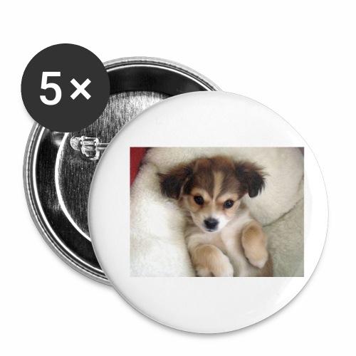 dog - Przypinka mała 25 mm (pakiet 5 szt.)
