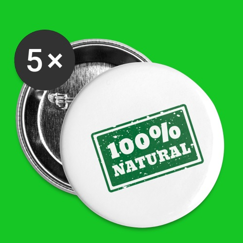 100% natural PNG - Buttons klein 25 mm (5-pack)
