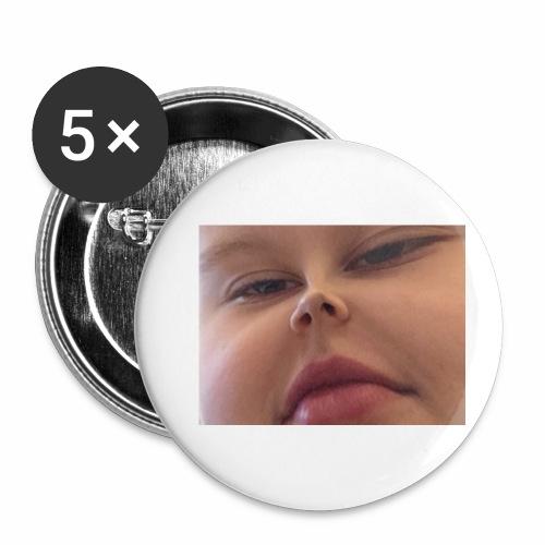 Sexy Man - Små knappar 25 mm (5-pack)