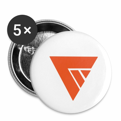 Logo Team Mutation - Lot de 5 petits badges (25 mm)