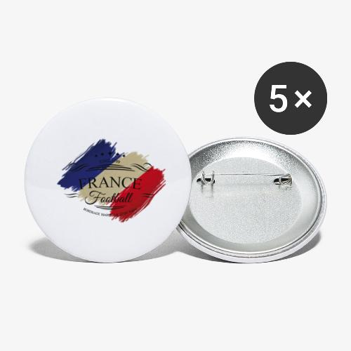 France Football - Buttons klein 25 mm (5er Pack)