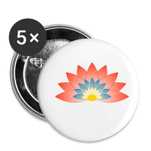 Support Renewable Energy with CNT to live green! - Buttons small 1''/25 mm (5-pack)