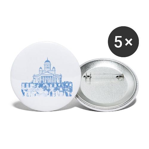 Helsinki Cathedral - Buttons small 1''/25 mm (5-pack)