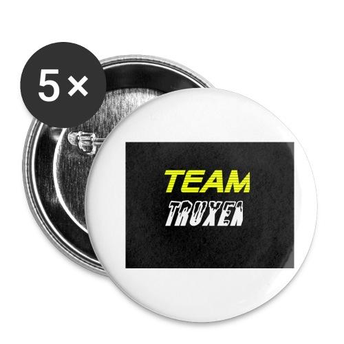 Truxenmerch - Små knappar 25 mm (5-pack)