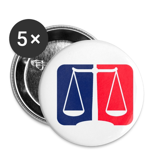 Logo2 - Buttons klein 25 mm (5er Pack)