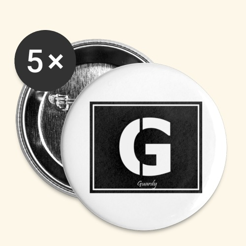 Guardy Merch Logo - Buttons small 1''/25 mm (5-pack)