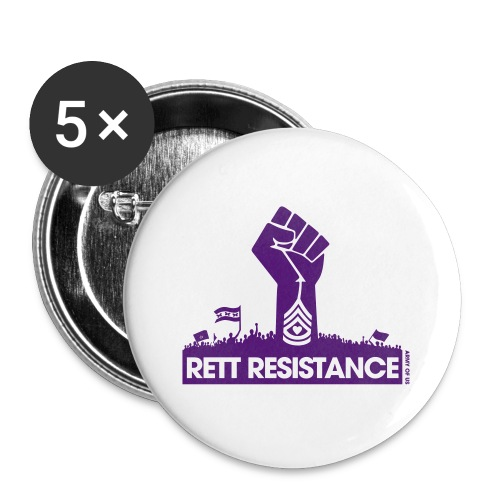 Rett Resistance - Army of Us - Buttons small 1''/25 mm (5-pack)