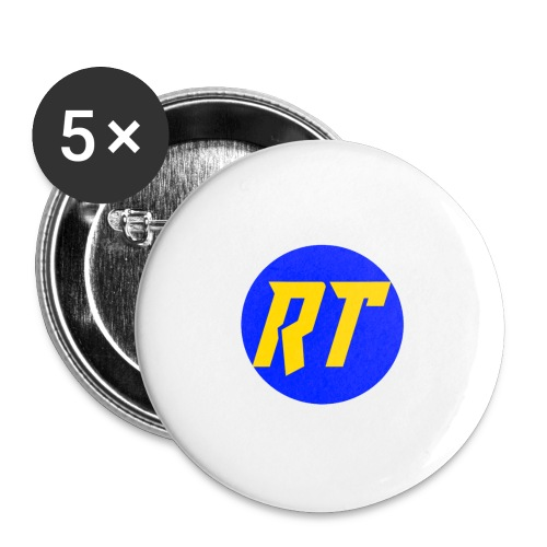 Gold RT - Buttons small 1''/25 mm (5-pack)
