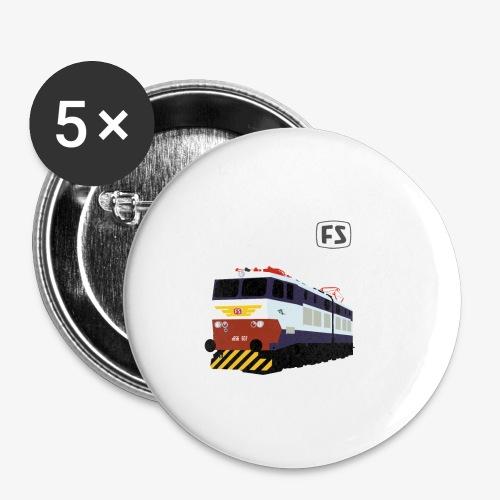 FS E 656 Caimano - Confezione da 5 spille piccole (25 mm)