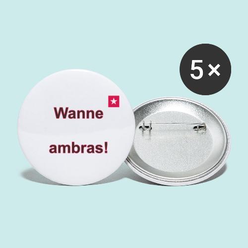 Wanne ambras verti mr def b - Buttons klein 25 mm (5-pack)