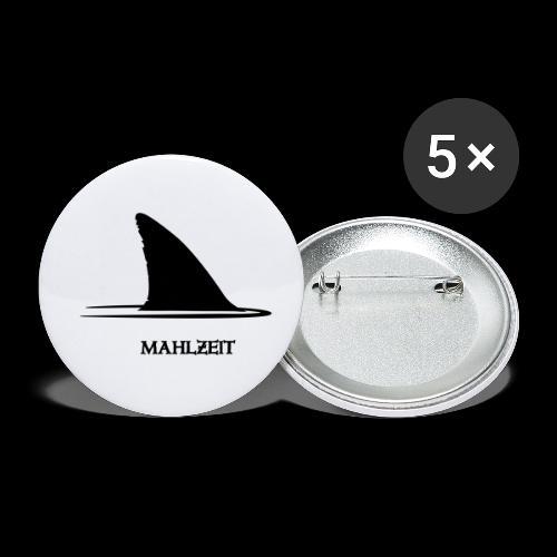 ~ Mahlzeit ~ - Buttons klein 25 mm (5er Pack)