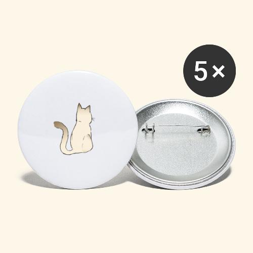 cat - Buttons klein 25 mm (5-pack)