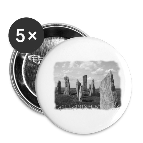 CALLANISH STONES #1 - Buttons klein 25 mm (5er Pack)