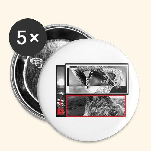 final1b break - Lot de 5 petits badges (25 mm)