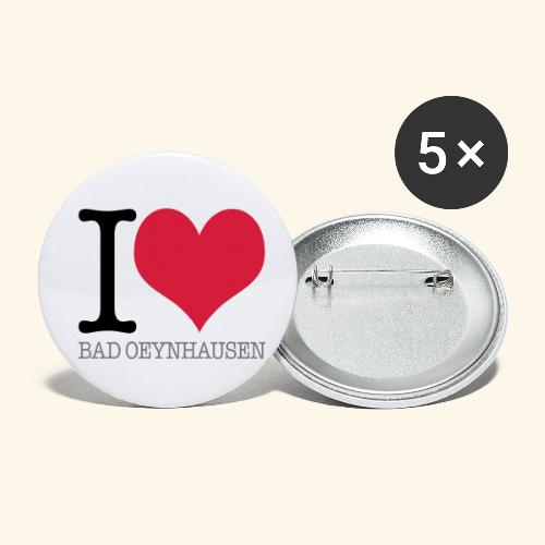 Love is in the Kurstadt - Buttons klein 25 mm (5er Pack)