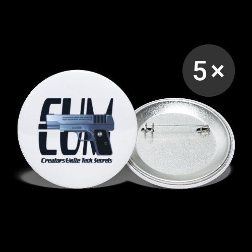 Tech Secrets 06 [CREATORS UNITE ORIGINAL] - Buttons small 1''/25 mm (5-pack)