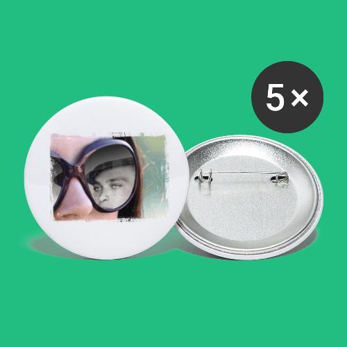 legionairelunette - Lot de 5 petits badges (25 mm)