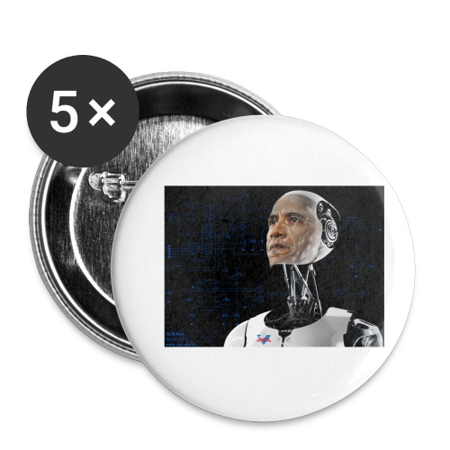 iRobama - Buttons small 1''/25 mm (5-pack)