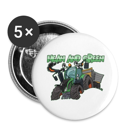 F 718Vario mean and green - Buttons klein 25 mm (5-pack)