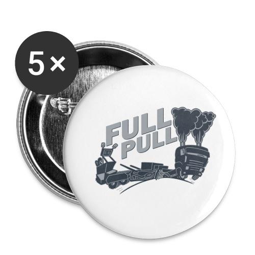 full pull duotone contour landscape - Buttons klein 25 mm (5-pack)