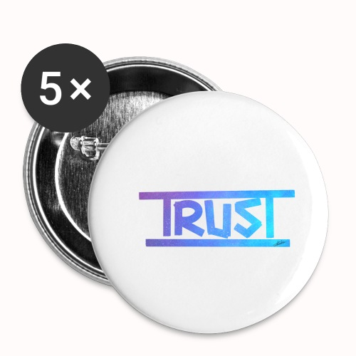 Trust - Buttons small 1''/25 mm (5-pack)