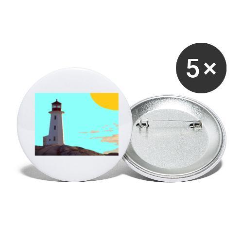fantasimm 1 - Confezione da 5 spille piccole (25 mm)