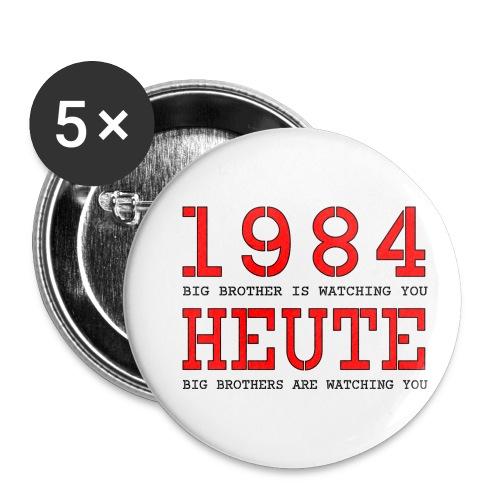Text 025 - Buttons klein 25 mm (5er Pack)