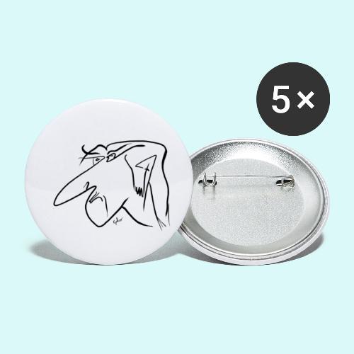 ephce200606 - Lot de 5 petits badges (25 mm)