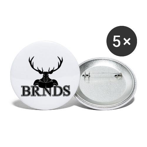 BRNDS - Confezione da 5 spille piccole (25 mm)