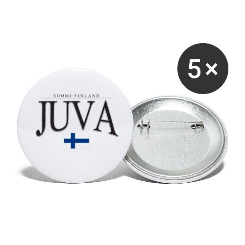 Suomipaita - Juva Suomi Finland - Rintamerkit pienet 25 mm (5kpl pakkauksessa)