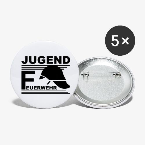 Jugend Feuerwehr Helm - Buttons klein 25 mm (5er Pack)