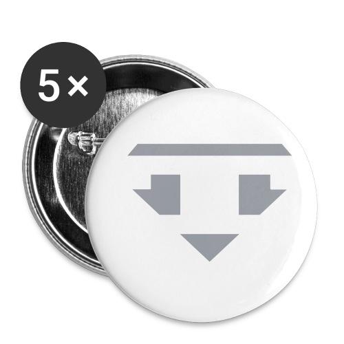 Twanneman logo Reverse - Buttons klein 25 mm (5-pack)