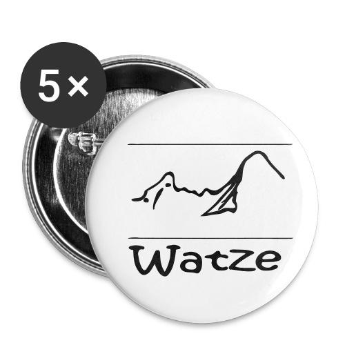 Watze - Buttons klein 25 mm (5er Pack)