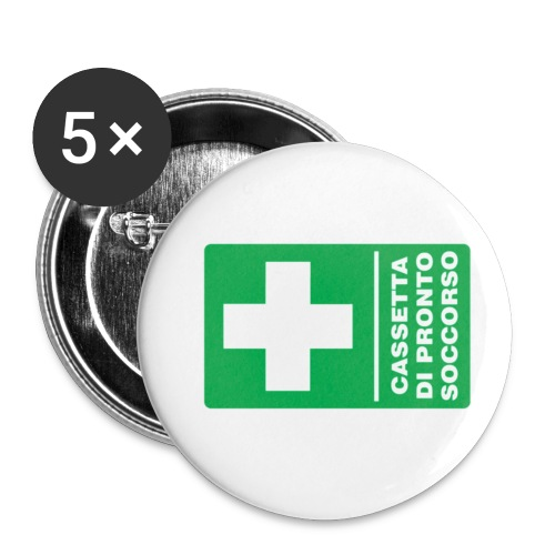 cartello png - Confezione da 5 spille piccole (25 mm)