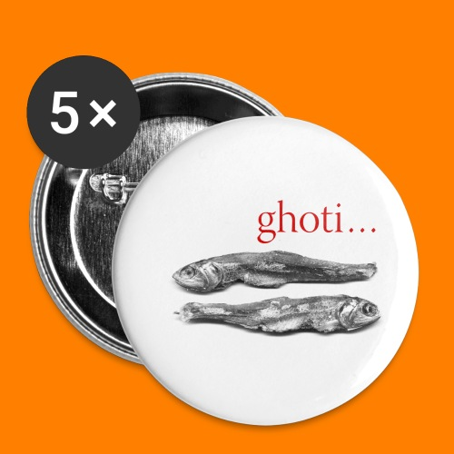 ghoti - Buttons small 1''/25 mm (5-pack)