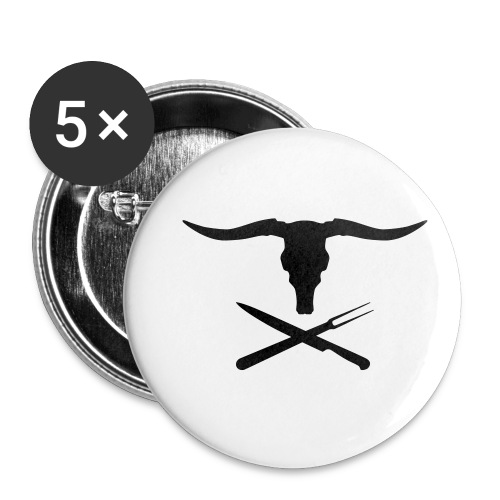 Cowly Roger - Buttons klein 25 mm (5-pack)