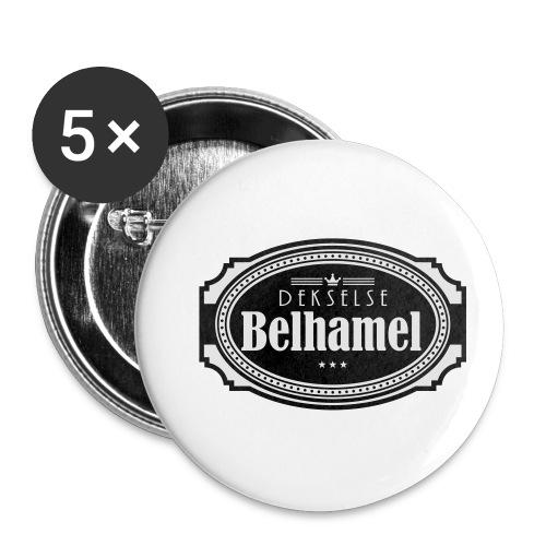 Dekselse belhamel - Buttons klein 25 mm (5-pack)