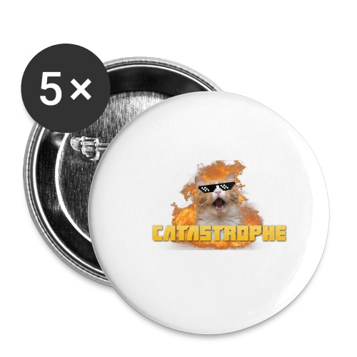 CATASTROPHE - Buttons small 1''/25 mm (5-pack)