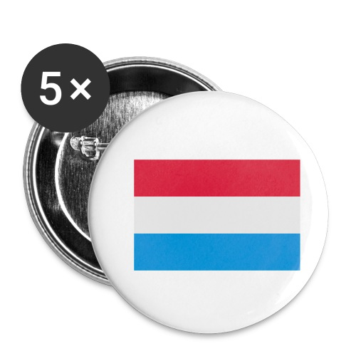 The Netherlands - Buttons klein 25 mm (5-pack)